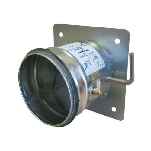 S&P Single Leaf Metal Duct Fire Damper With EPDM Rubber Gaskets 100mm